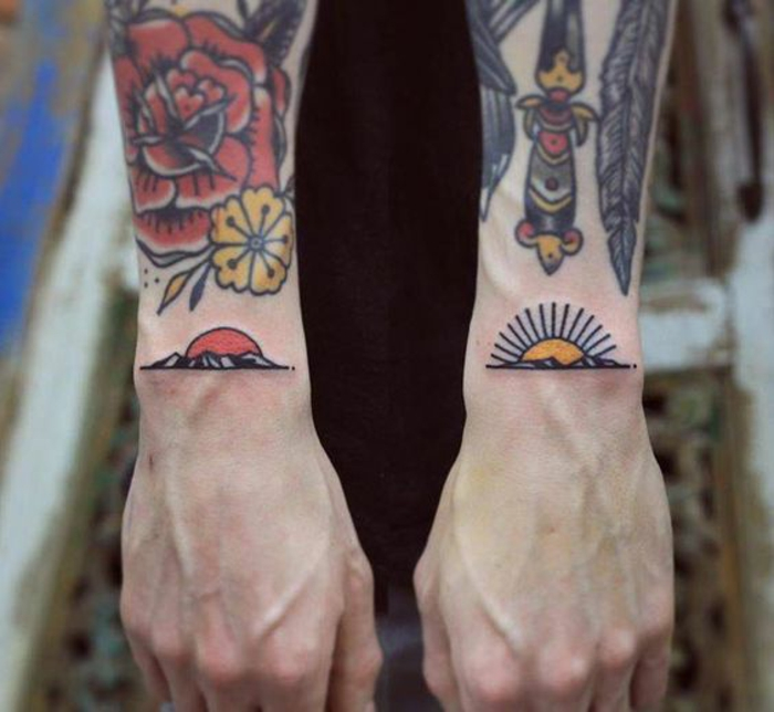 Signification tatouage chouette pin up tatouée tatoo old school