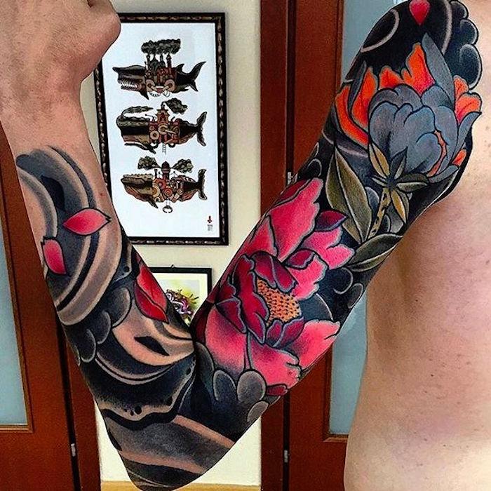 1001 id es irezumi ou le tatouage japonais traditionnel. Black Bedroom Furniture Sets. Home Design Ideas