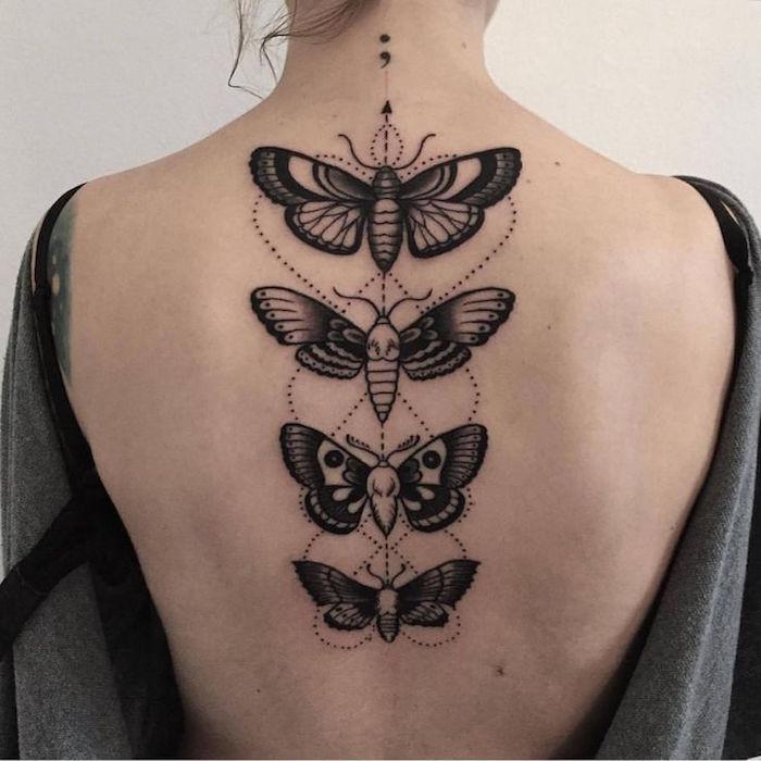1001 Idees Tatouage Dos Ce Tattoo Que Je Ne Saurais Voir