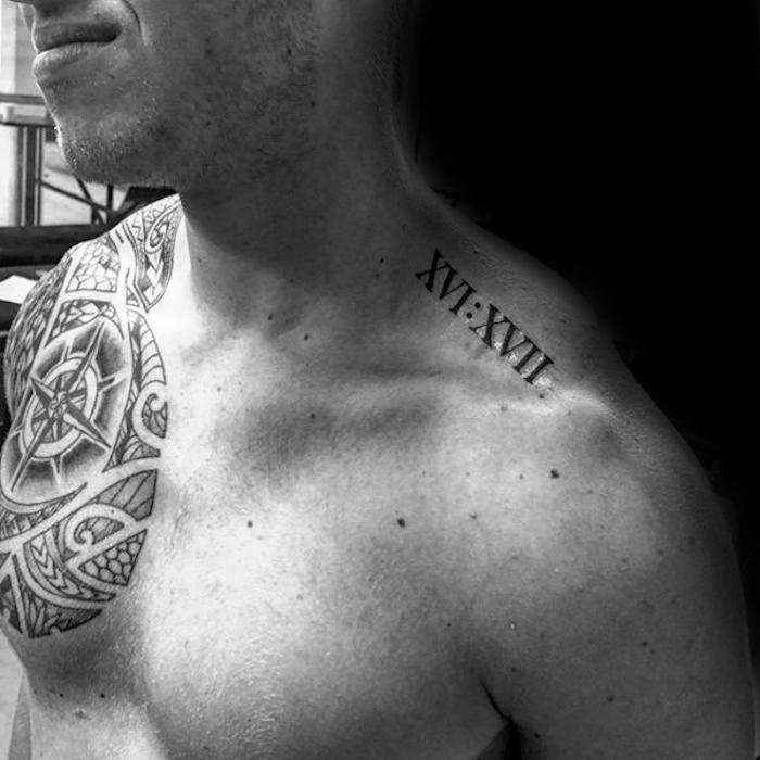 ▷ 1001+ idées | tatouage chiffre romain – des chiffres et des