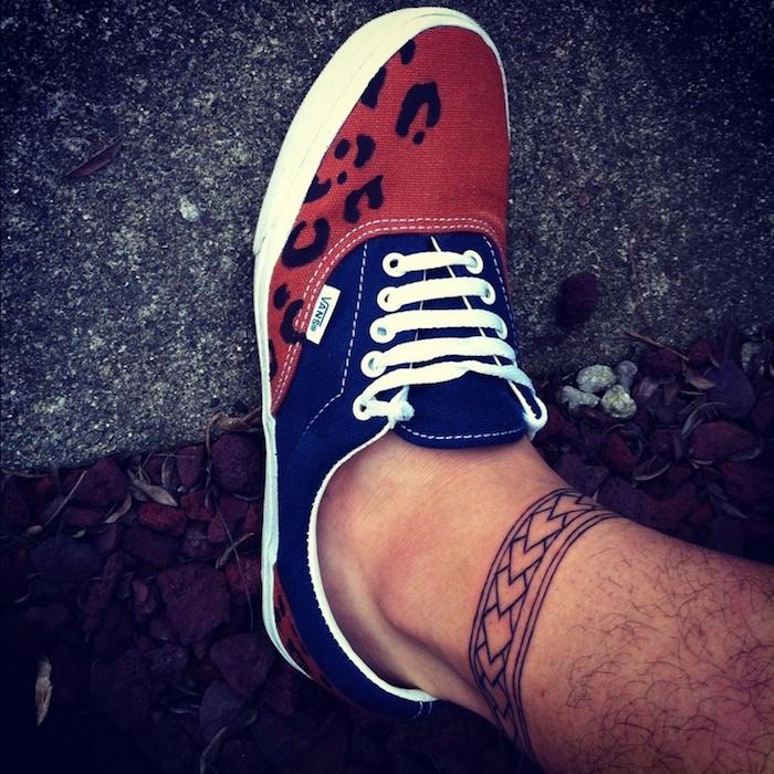 idées tatouage pour cheville homme style tattoo bracelet maori