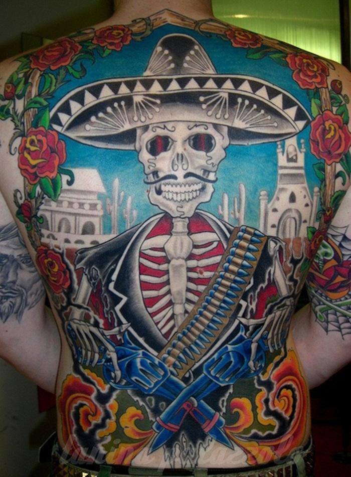 1001 Idées Tatouage Tête De Mort Mexicaine Qui Vivra