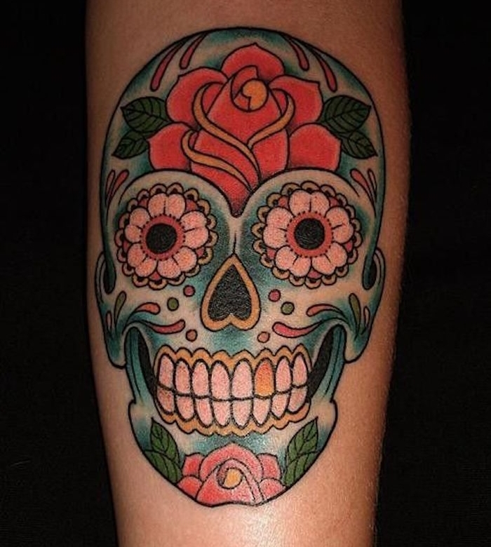 1001 id es tatouage t te de mort mexicaine qui vivra calavera. Black Bedroom Furniture Sets. Home Design Ideas