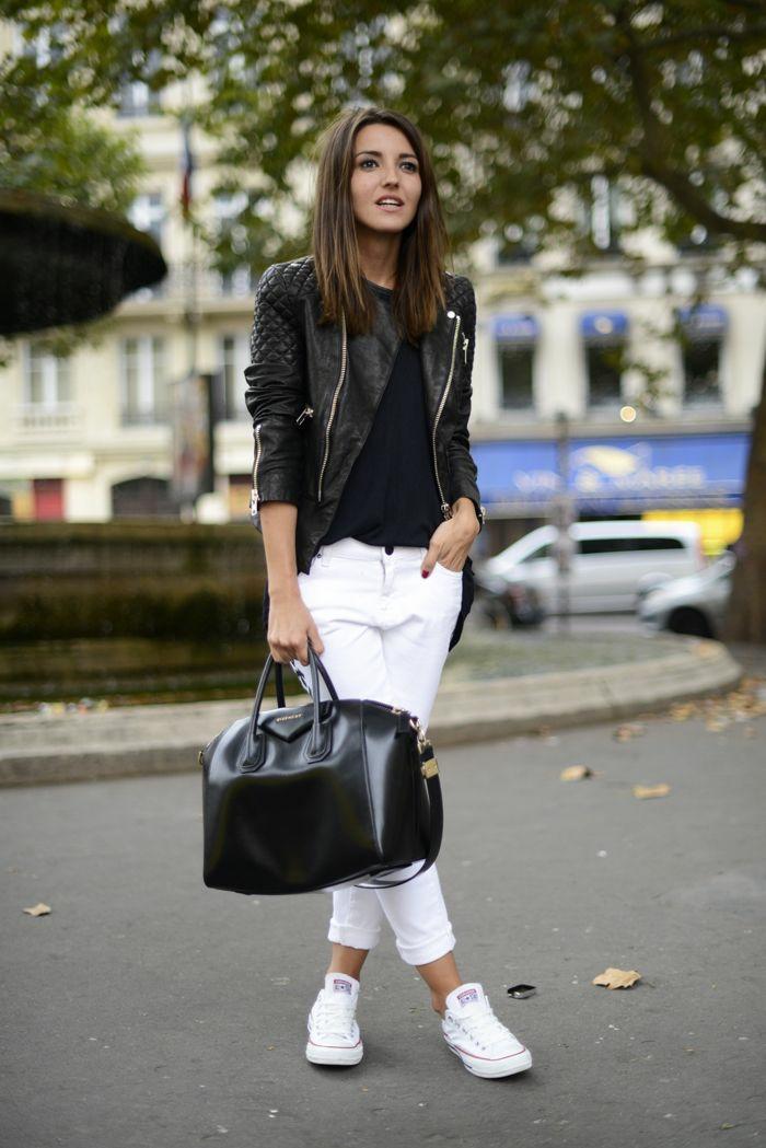 Favori ▷ 1001 + idées pour une tenue avec pantalon blanc fantastique DK08