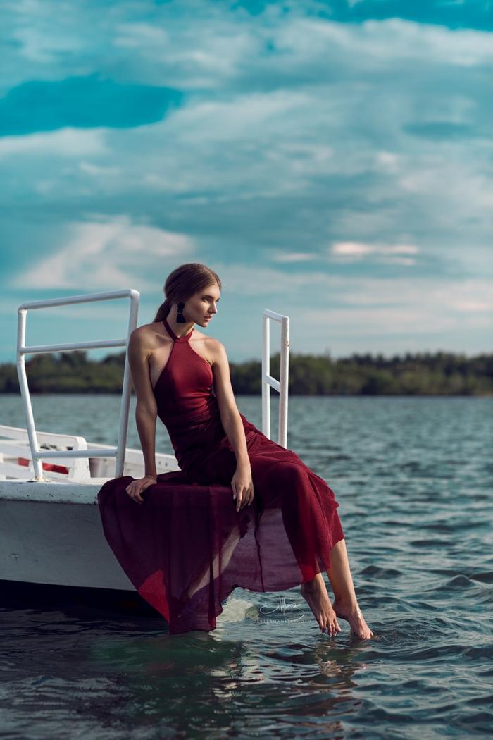 Quelle robe pour invité mariage tenue champetre femme belle robe rouge longue
