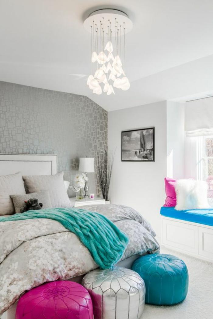 1001 id es pour am nager en gris perle les variantes. Black Bedroom Furniture Sets. Home Design Ideas