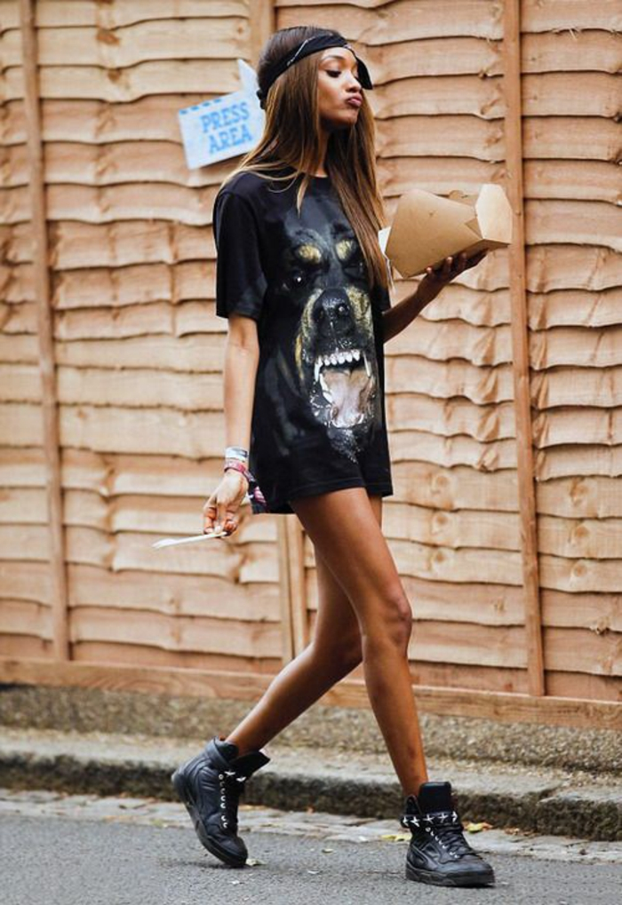 Comment etre swag une tenu swag tenue de sport femme swag robe tee shirt