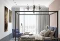 Une chambre gris et violet – les meilleures idées pour créer un intérieur élégant