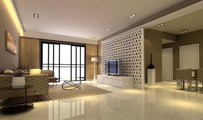 salon design luxe maison espace meubles minimalistes