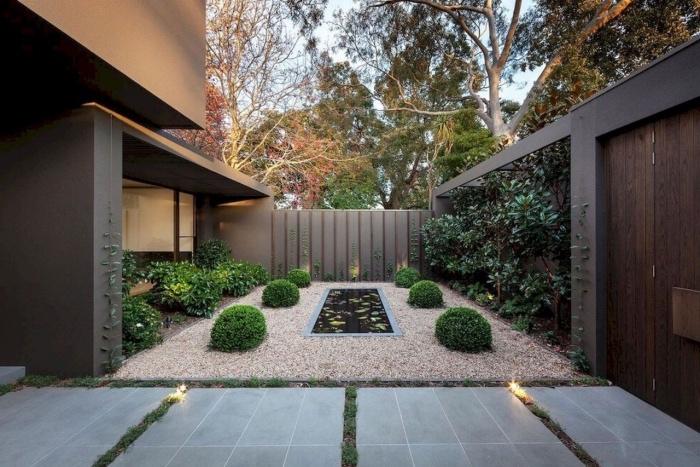 Stunning une cour de maison ideas for Amenagement petite cour maison