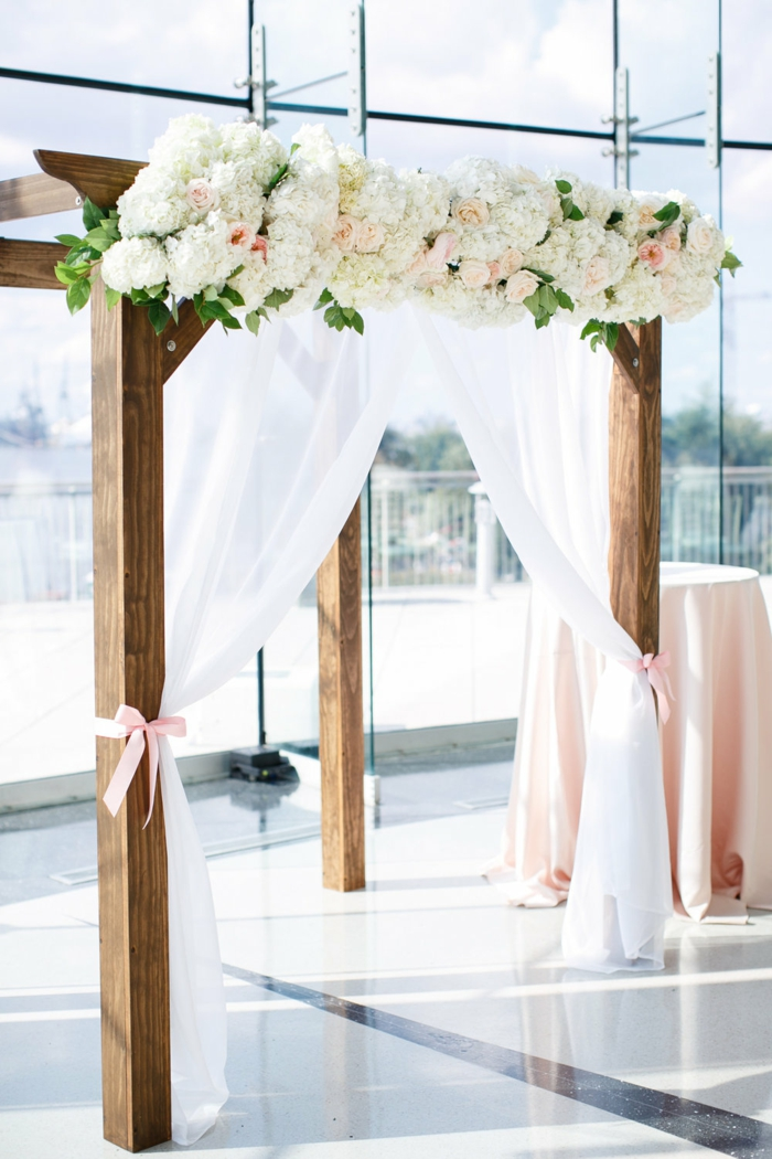 Idée arche pour mariage pas cher comment faire une arche fleur deco mariage intérieur déco mariage laique