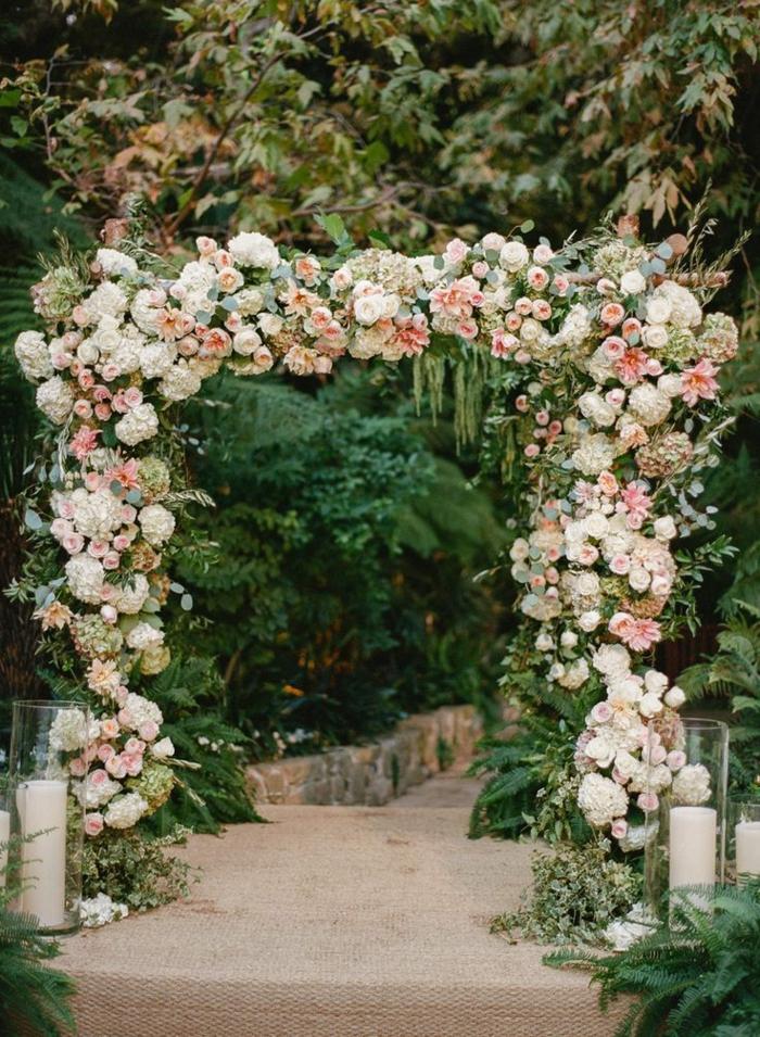 Cool idée décoration mariage composition de mariage création florale