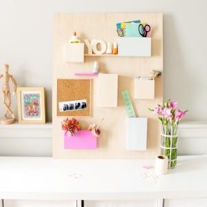 Un DIY rangement astucieux pour organiser son bureau, maquillage, vêtements, accessoires et plein d'autres