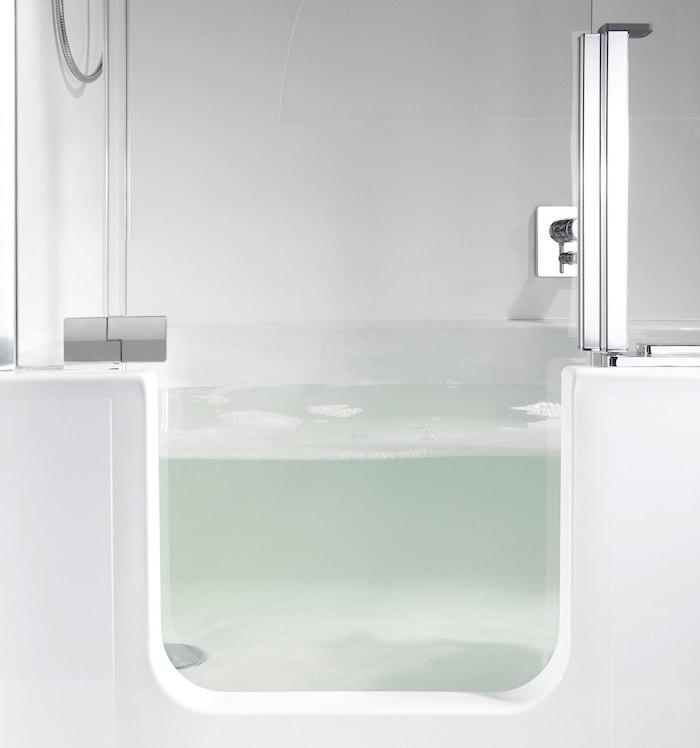 baignoir douche bac baignoire porte deux en un pratique amovible