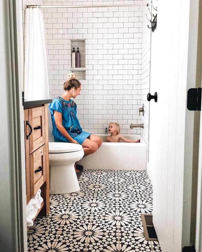 bac baignoire basse douche petit mini bain enfant