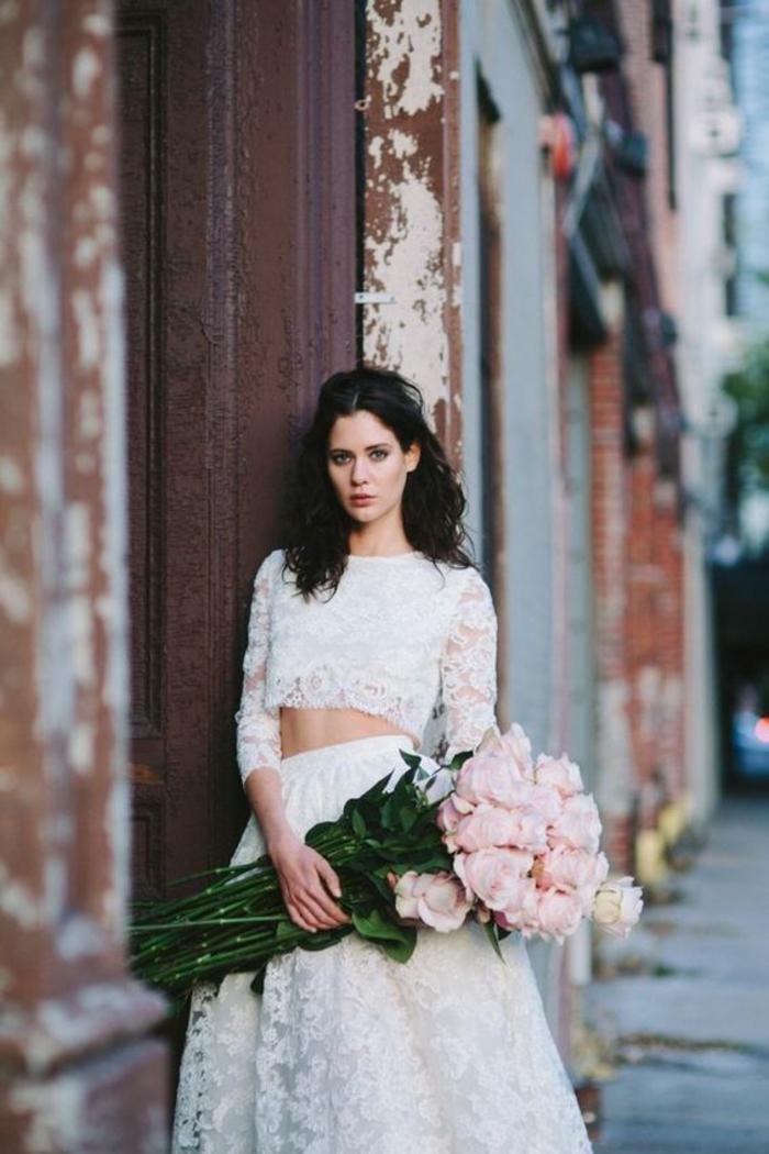 Les plus belles robes de mariée robe de mariée courte pas cher robe deux pièces robe de mariée dentelle