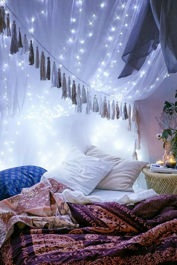 1001 Idées Pour La Décoration D Une Chambre Gris Et Violet