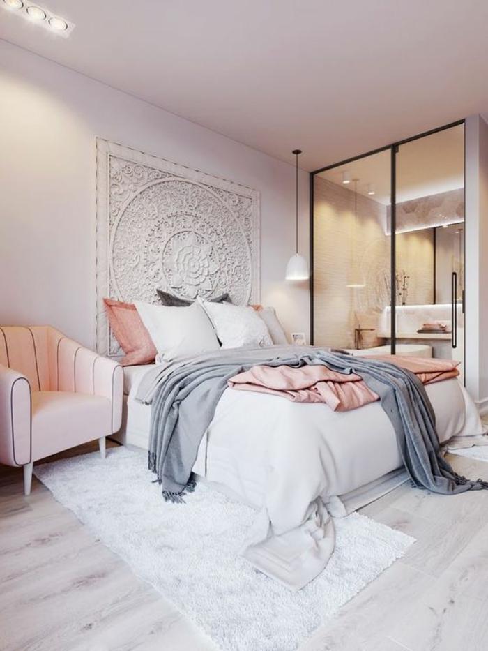 1001 id es pour une chambre design comment la rendre for Chambre adult complet