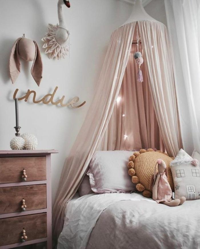 decoration chambre rose
