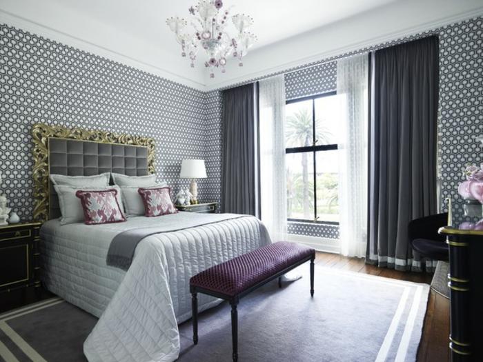 Fabulous Mauve Couleur Chambre Prune Et Blanc Ide Peinture Chambre Adulte  Luxueuse Une Chambre Gris Et Violet With Chambre Violette Et Grise
