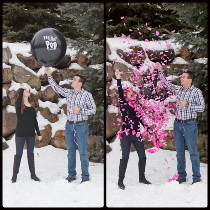 Annoncer que c est une fille comment faire la surprise à votre famille photo ballon