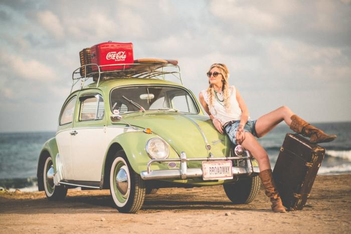 Vetement hippie chic hippie style vetements hippie tendance photo voyages hippie tenue femme jean short bottines