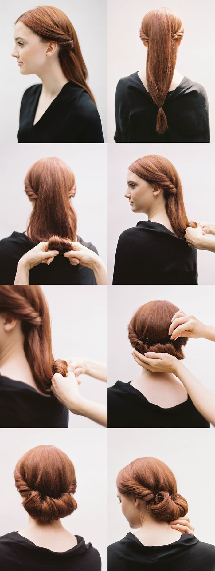 coiffure mariée, coloration cuivré, coiffure à réaliser, étapes à suivre, tuto coiffure, cheveux longs