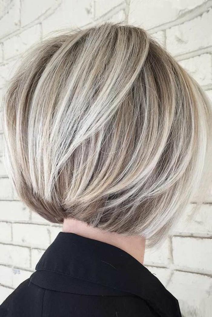 couleur blond méché