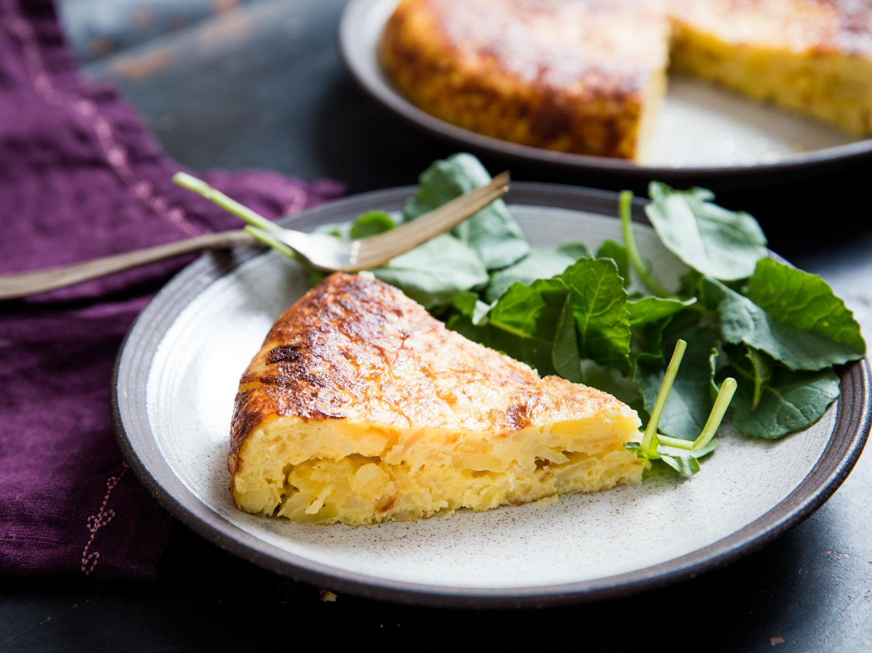 idée recettes tapas a faire soi meme, omelette d oeufs, patates, apero dinatoire, recette simple et rapide,