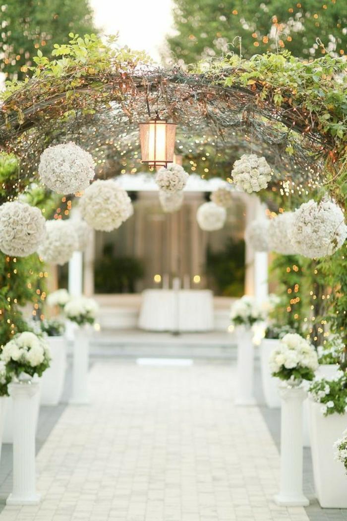 Création art floral compositions florales pour mariage tonnelle pour mariage allée mariage