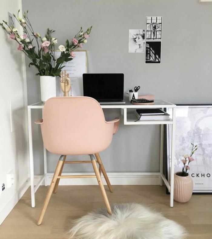 Home Office And Studio Designs: 1001+ Idées Pour Aménager En Gris Perle + Les Variantes