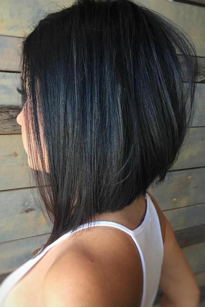 coupe de cheveux femme très structurée sans frange coiffure 2016 tendance 2017 coupe cheveux court