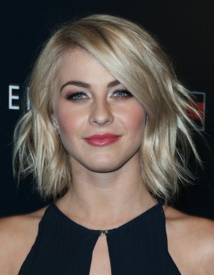 coupe de cheveux femme coupe carré aux bords effilés irréguliers