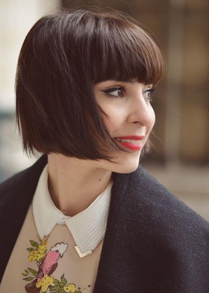 coupe cheveux carre vintage