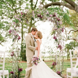 Arche fleurie mariage - laquelle choisir, quelle est sa signification et comment la faire soi-même?