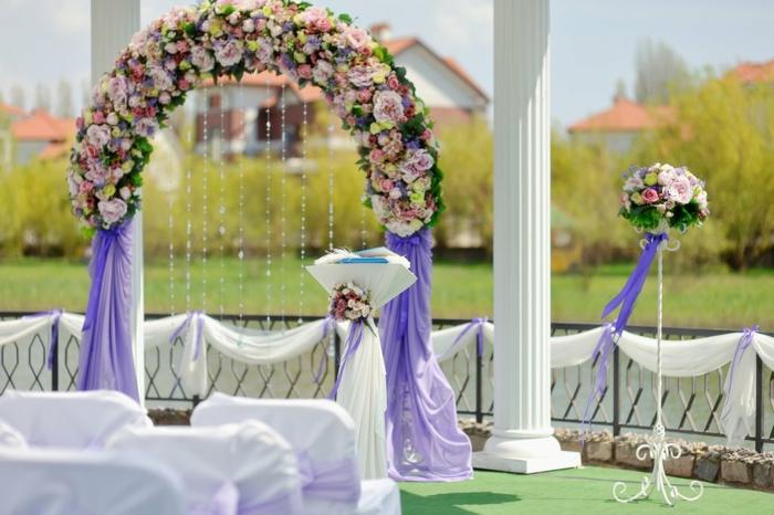 Idée arche pour mariage idée comment faire une arche fleur deco mariage