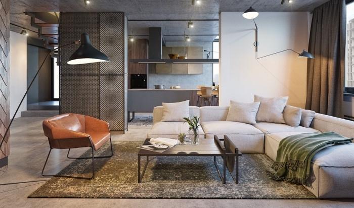 Sol cuisine ouverte sol cuisine ouverte avec enchanteur sol cuisine ouverte avec best galerie for Sol cuisine ouverte sur salon