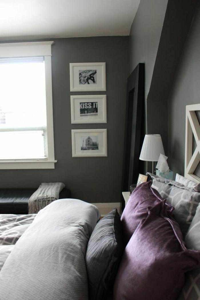 Une deco chambre gris et rose chambre violette chambre gris et rose