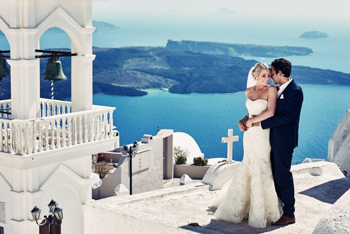 Votre robe de mariée asymétrique robe de mariée romantique mariage en grece