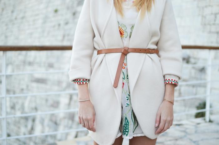 Quelle robe blanche courte robe d hiver manteau blanc s habiller selon sa morphologie