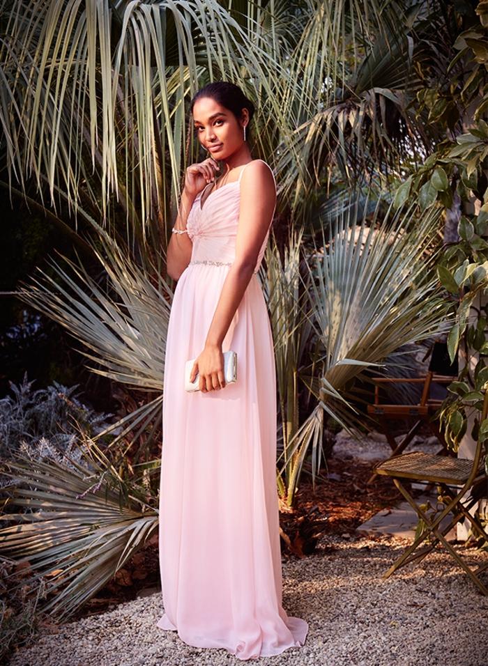Comment s habiller pour un mariage robe de soirée pour mariage robe longue rose robe bal de promo