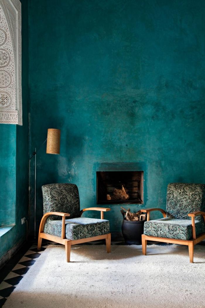 intérieur à inspiration marocaine
