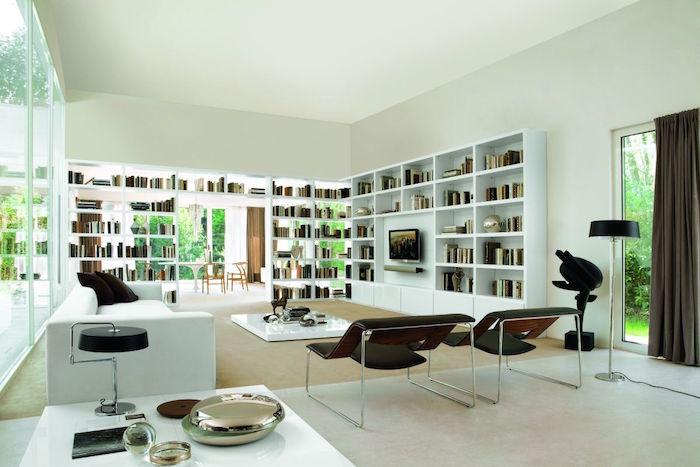 meubles de salon et deco design style contemporain et moderne