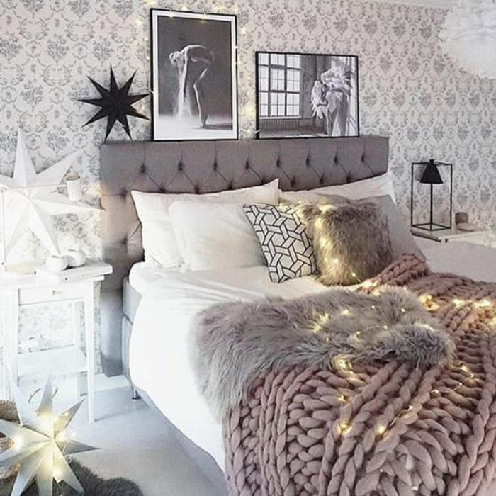 stunning deco chambre romantique rose ideas lalawgroup. Black Bedroom Furniture Sets. Home Design Ideas