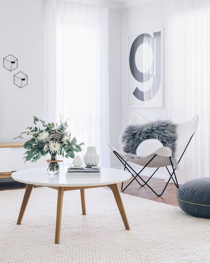 1001 Photos Et Conseils D Amenagement D Un Salon Scandinave