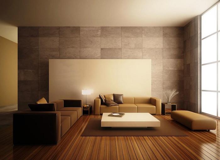 décoration design salon deco simple moderne et vintage