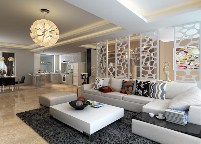 deco sejour design salon appartement espace meubles contemporains