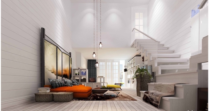 décoration loft style boheme minimaliste moderne