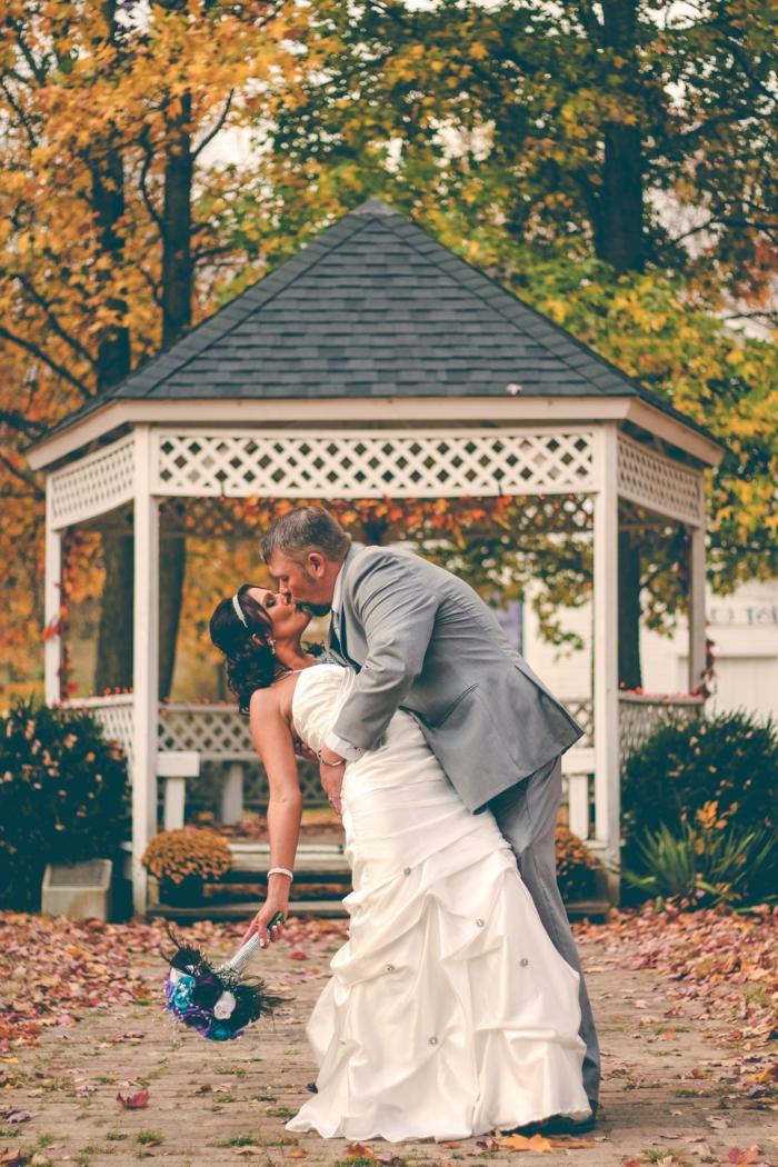Géniale idée arche mariage une arche décoration arche mariage photo automne mariage