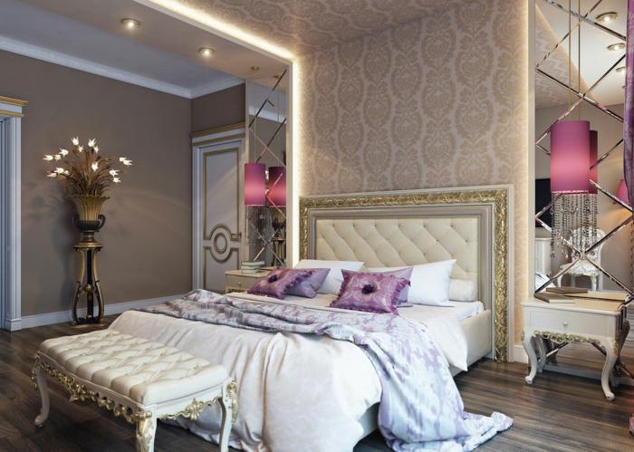 Papier peint pour chambre adulte idee deco chambre adulte romantique lux